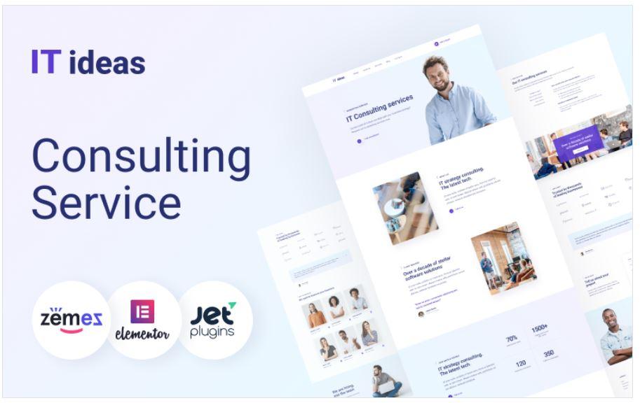 the ITIdeas business wordpress theme