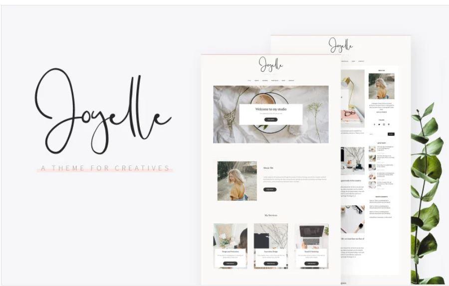 The Joyelle business wordpress theme