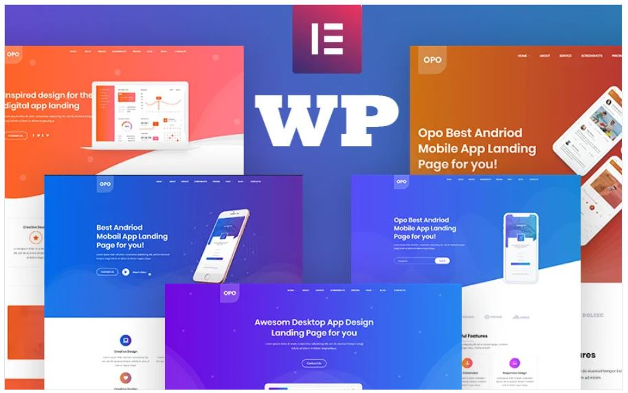 The Opo Business WordPress Theme