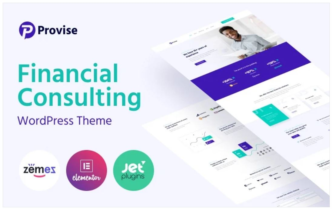provise special financial consulting theme
