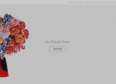 The Flowerlook ecommerce website designed by JL Web Design