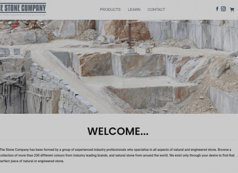 The Stone Company Adelaide designed by JL Web Design