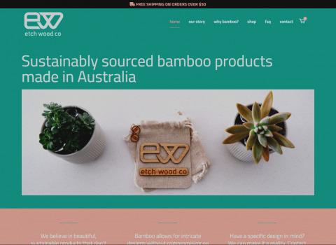 etchwood co website designed by JL Web Design