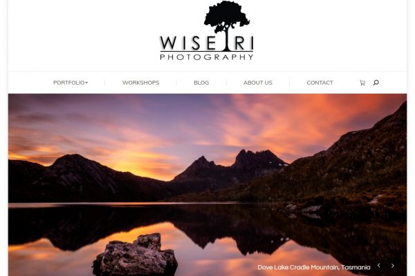Wise Tri Photography website created by JL Web Design
